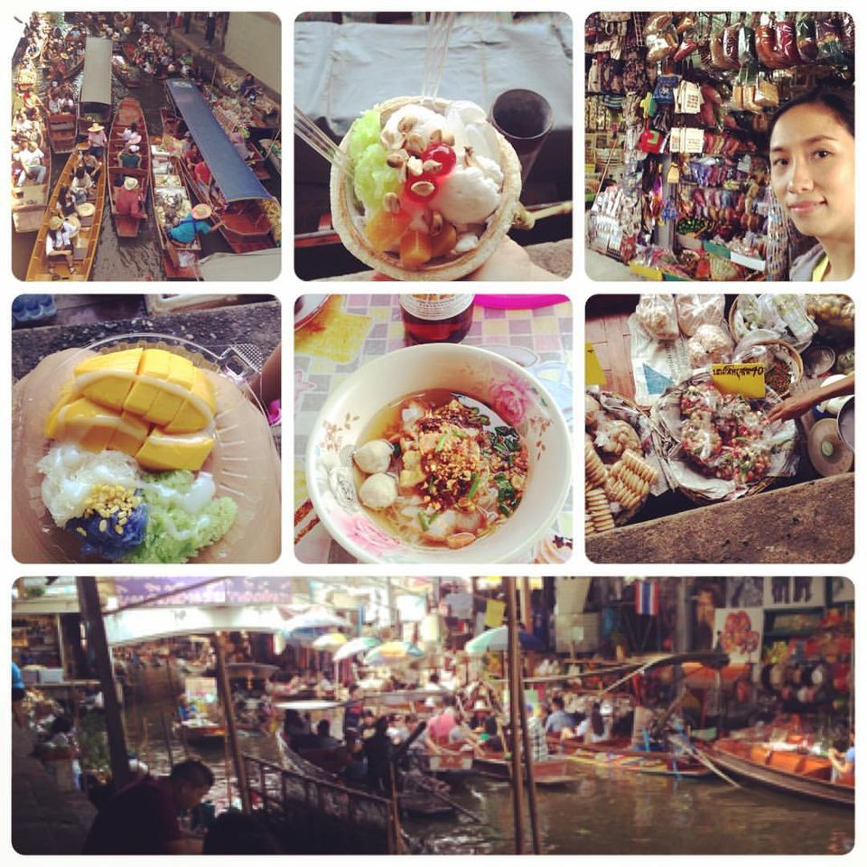Read more about the article Damnoen Saduak Floating Market